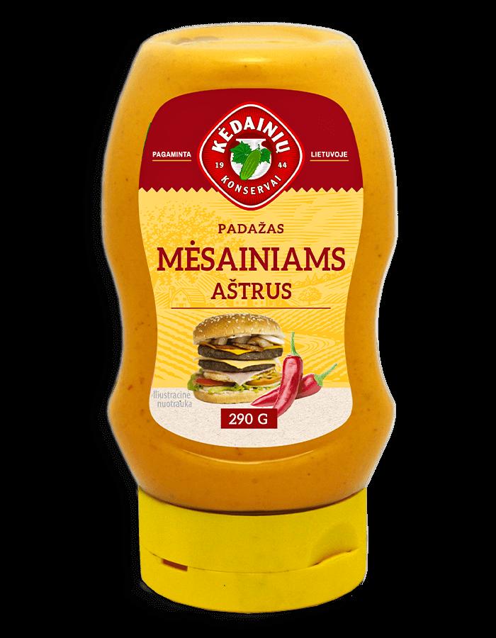 MĖSAINIAMS AŠTRUS