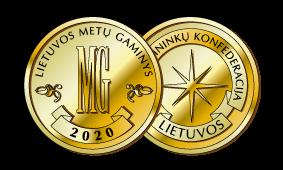 2020 m. Lietuvos metų gaminys<br />Aukso medalis