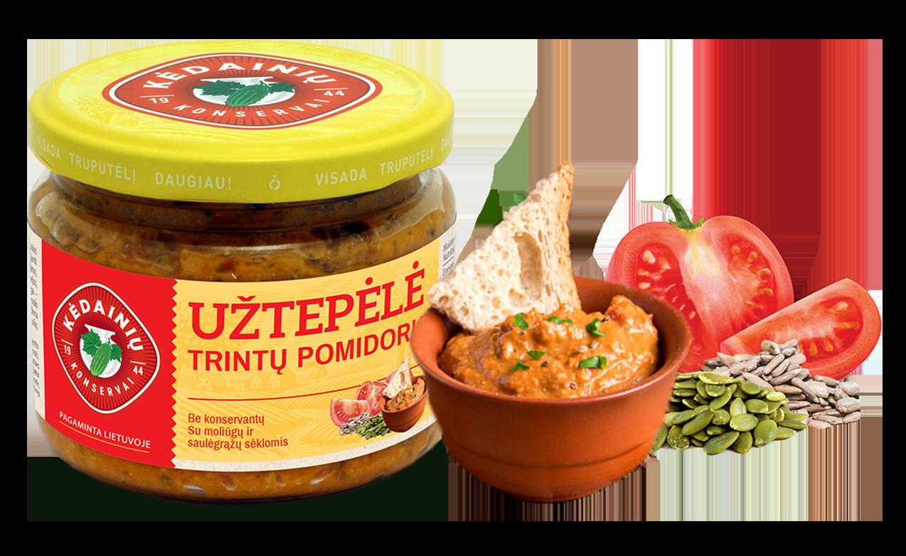 Trintų pomidorų