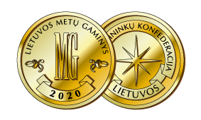 2020 m. Lietuvos metų gaminys<br>Aukso medalis