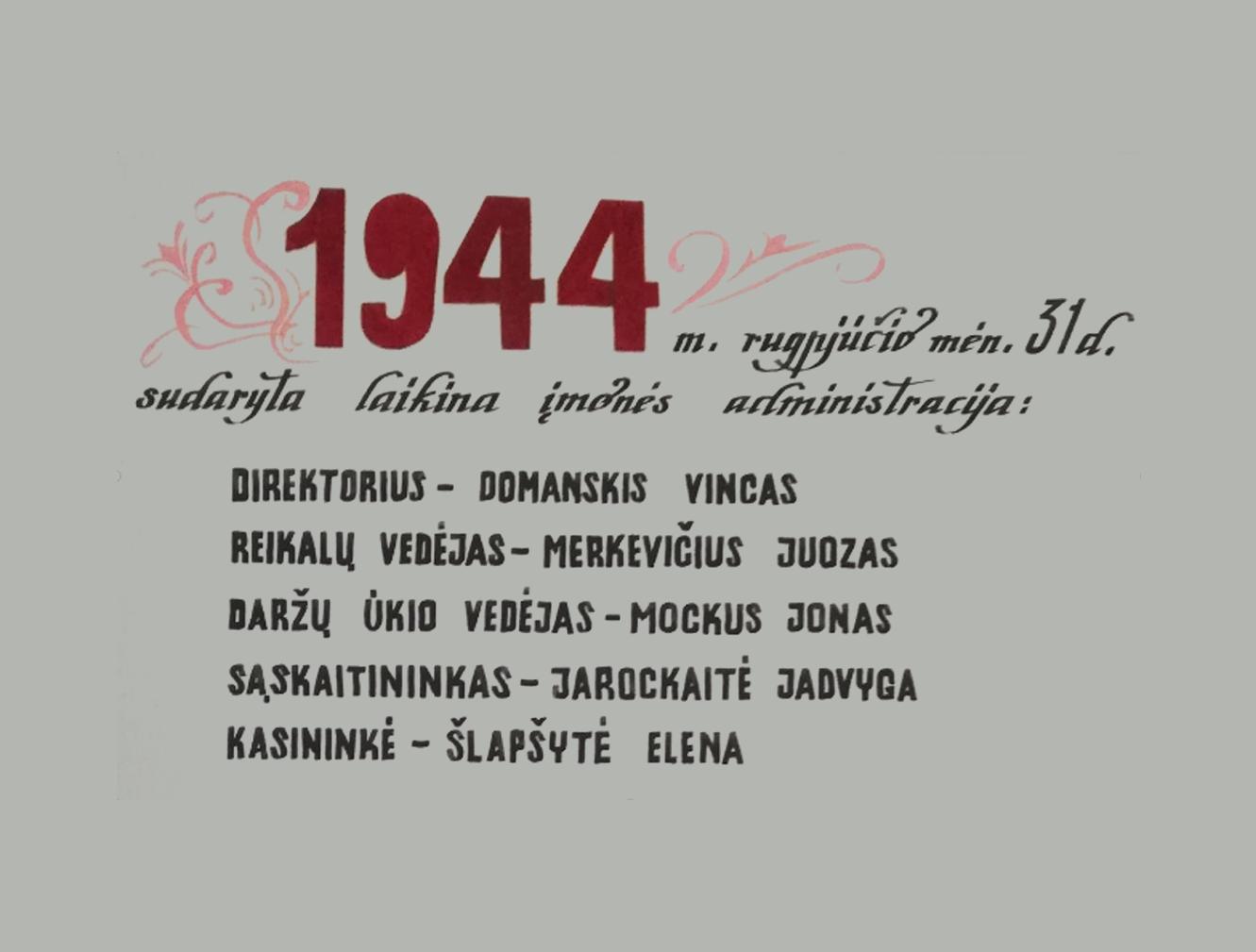 Kedainių Konservai - Istorija